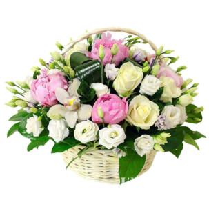 "Цветы в корзинке ""Тиффани"""